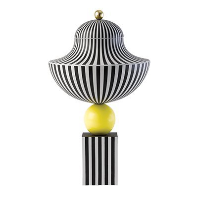 Lee Broom Vase on Yellow Sphere